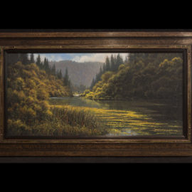 Here is my latest framed painting